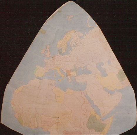 Cahill world map octant, color; 3 of 8