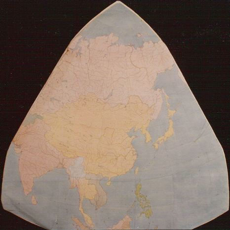Cahill world map octant, color; 4 of 8